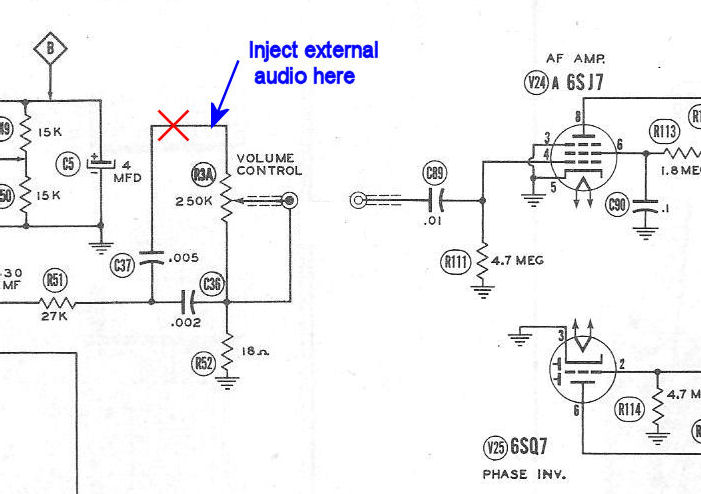 direct audio  video adapter for vintage tvs