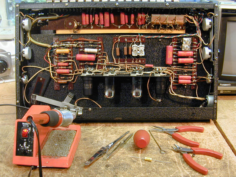 Replacing Old Wiring on schematic for old radios silvertone tube
