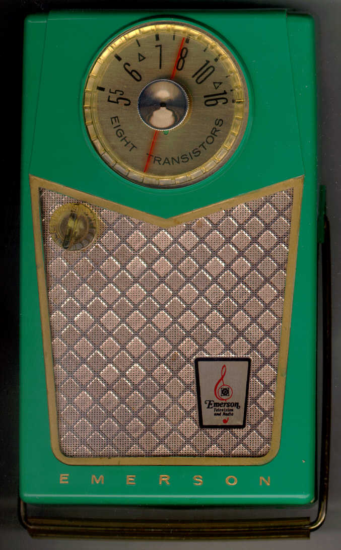 Emerson Model 888  U0026quot Pioneer U0026quot  Transistor Radio 3 1958