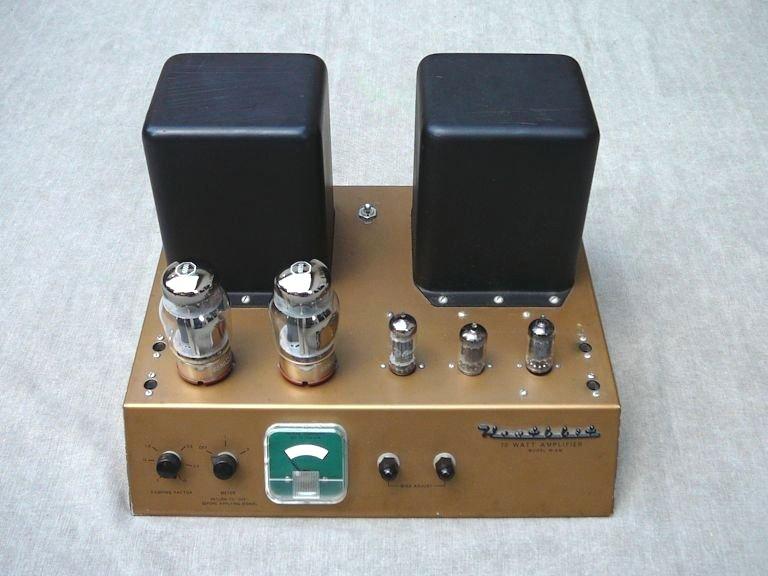 Heathkit Model W 6m High Fidelity Amplifier 1957