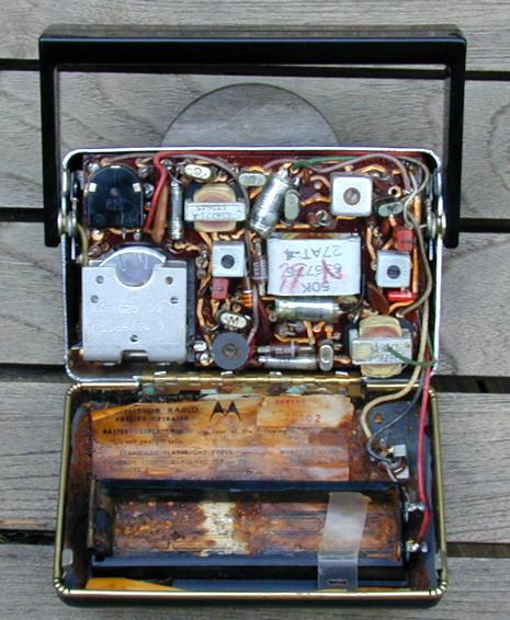 Motorola Model 66t1 Transistor Radio  1957