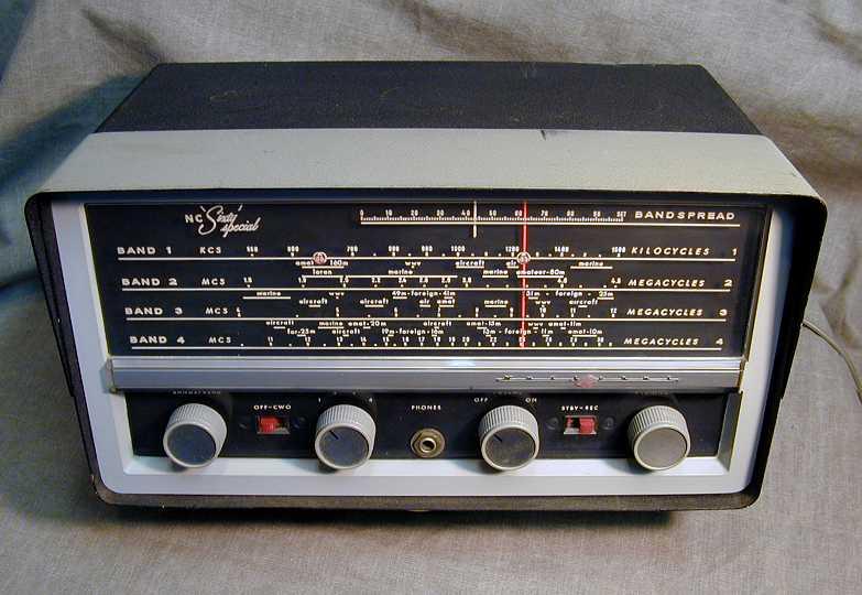 National NC-60 Shortwave Radio (1959)