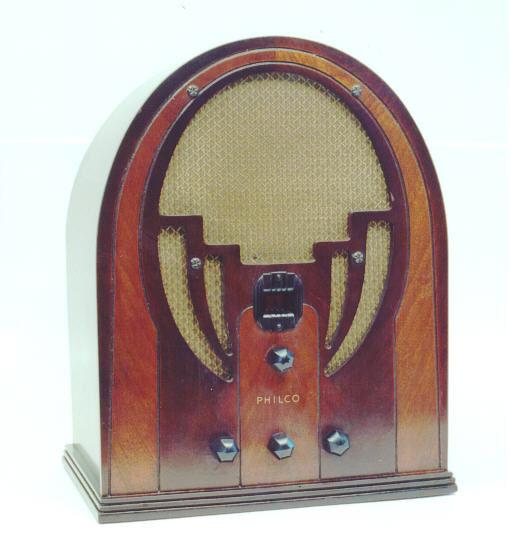 Philco Model 60b Cathedral Radio 1935