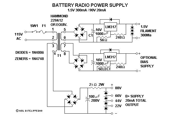 Powering Your Antique Battery Radio on
