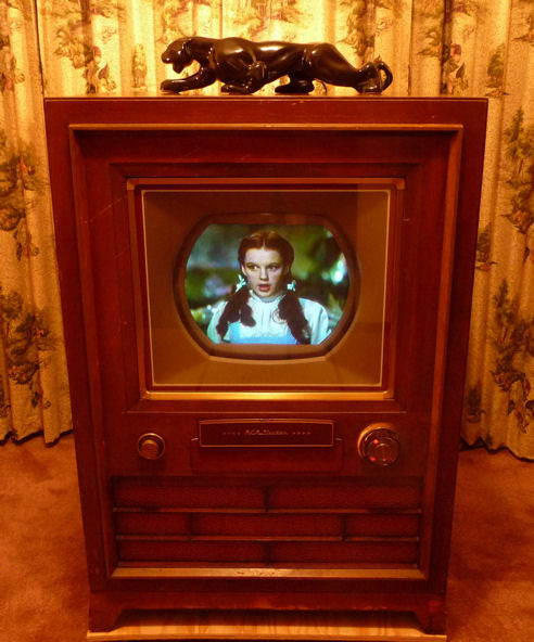RCA CT-100 Color Television Design