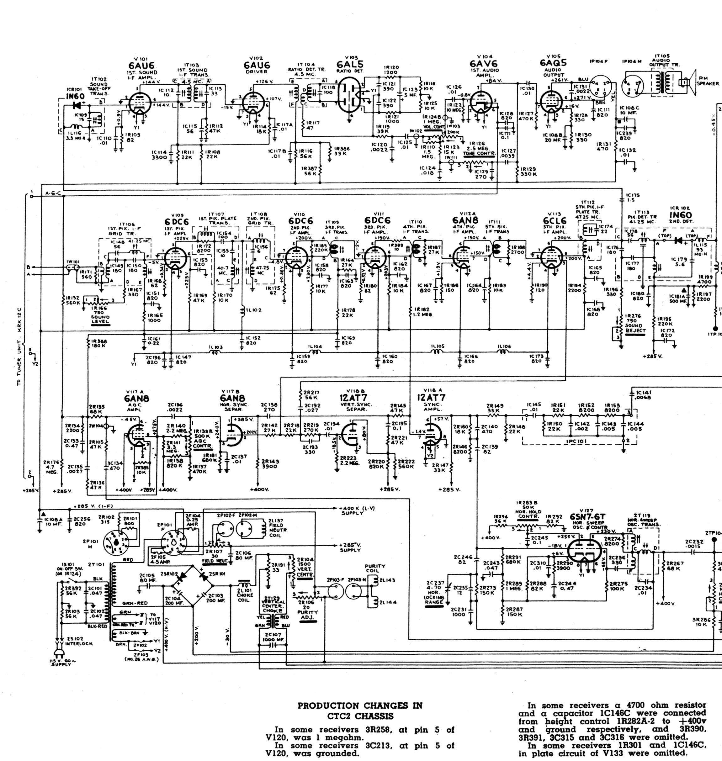 rca ct-100 color television design vga to rca video wiring diagram #15