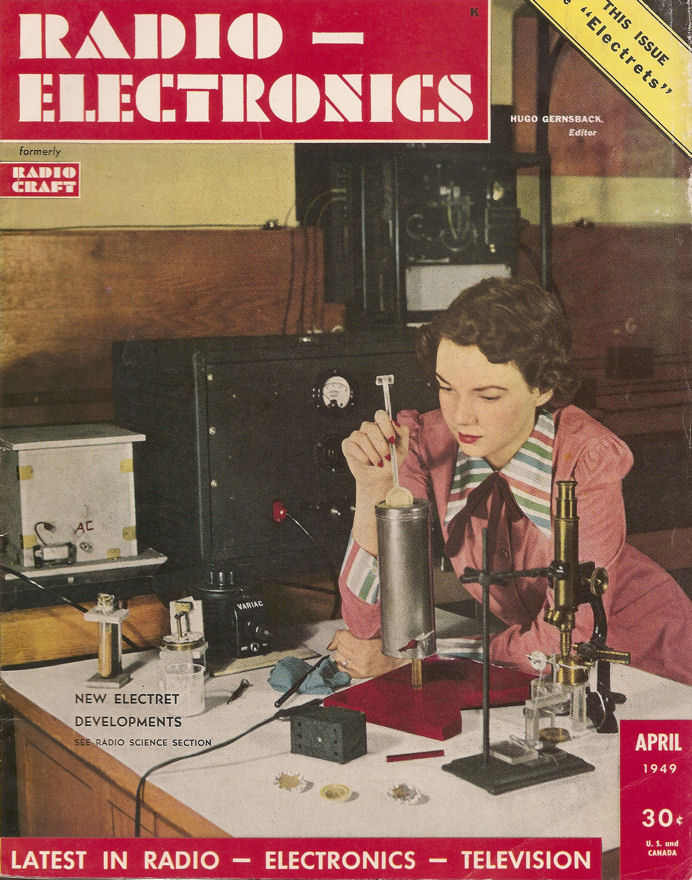 Radio-Electronics Magazine, April 1949