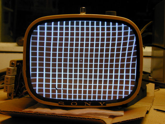 Sony Model 8-301W Portable Television (1961)