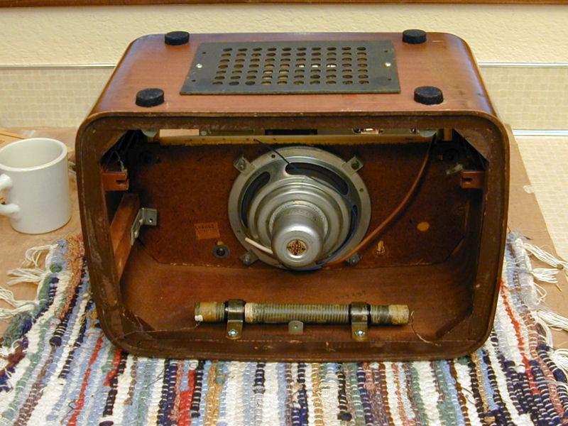 telefunken jubilee export am fm radio 1956. Black Bedroom Furniture Sets. Home Design Ideas