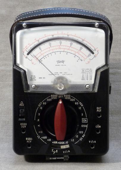 Triplett Analog Multimeter : Triplett model na volt ohm milliammeter