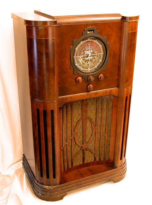 Zenith Model 12 A 58 Console Radio 1936