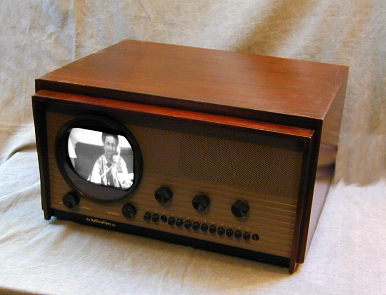 hallicrafters model 505 t 54 television 1948. Black Bedroom Furniture Sets. Home Design Ideas