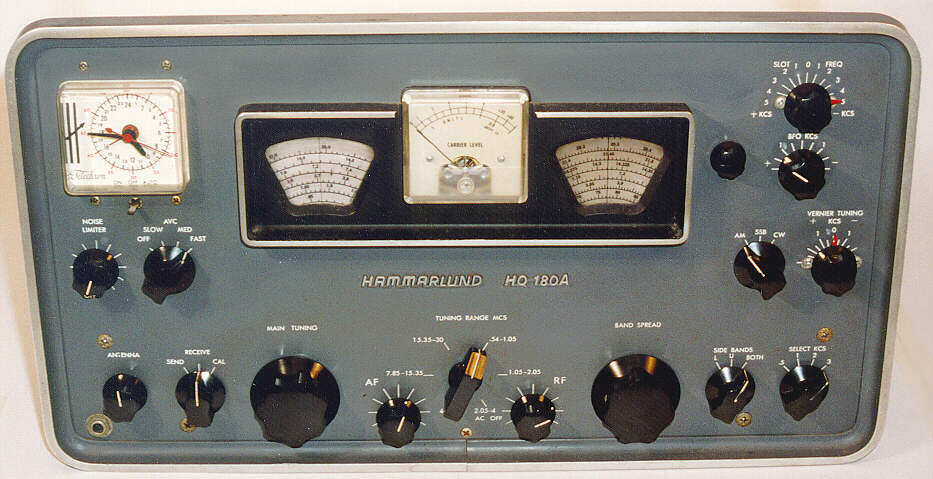 hammarlund hq 180ac communications receiver 1966 rh antiqueradio org Dell PowerEdge Dell KVM Switch