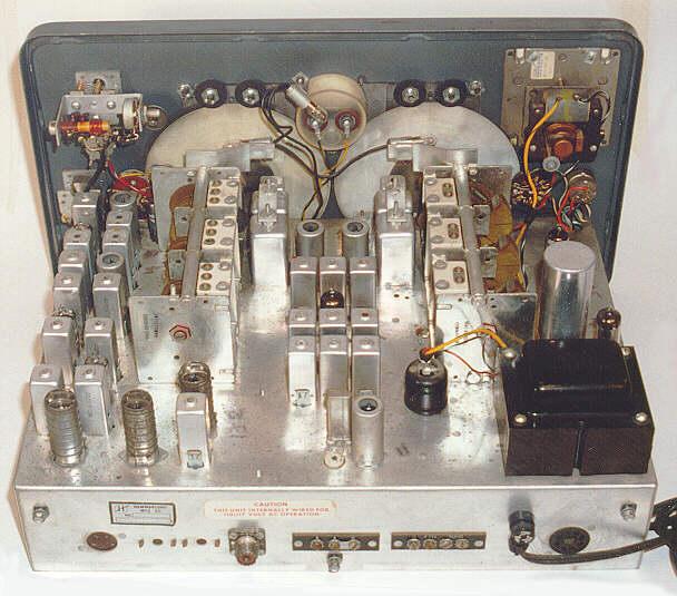 radio schematic hammarlund hq 180ac communications receiver  1966   hammarlund hq 180ac communications receiver  1966