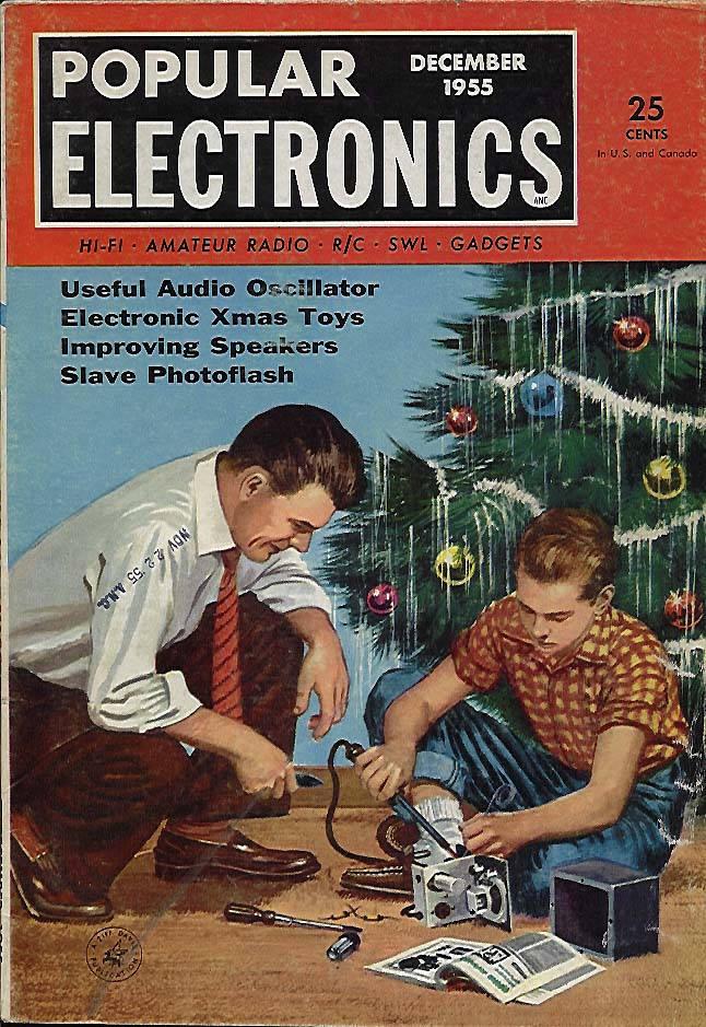 Popular Electronics Magazine December 1955