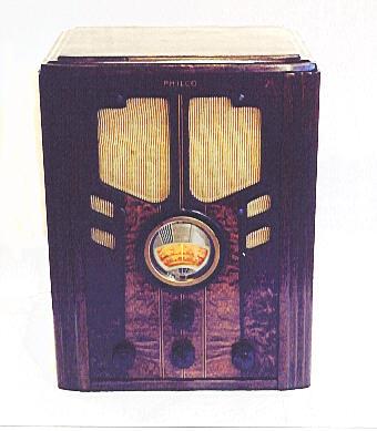 Philco Model 37 61 Tombstone Radio 1937