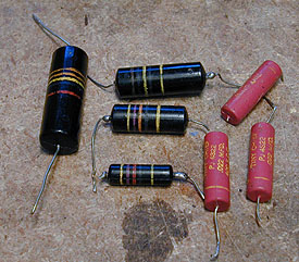 replacing capacitors in old radios and tvs Motor Start Capacitors 50 60Hz identifying capacitor values