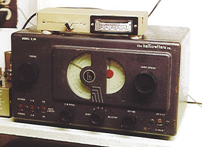 cardboard radio adding an s meter to a hallicrafters s 38 radio