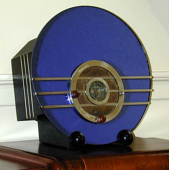 Sparton Model 154b Quot Bluebird Quot Mirror Radio 1936