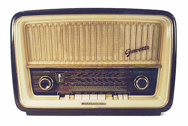Telefunken gavotte model 9 radio 1958 for Classic house radio