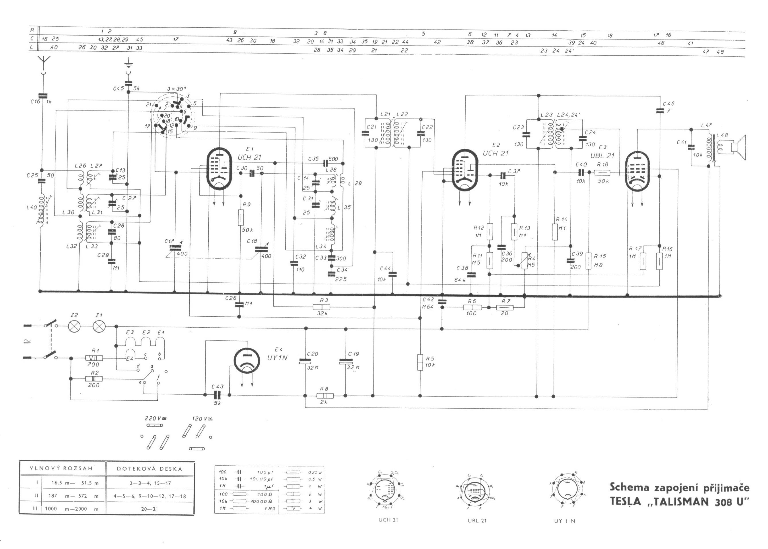 tesla308uschematic tesla model 308u \