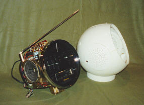 Weltron 2001 Quot Space Ball Quot Radio 8 Track 1970s