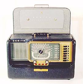 راديو زينث قديم